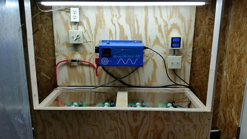 Auto-Switching Inverter/Charger for Wood Furnace, Pellet